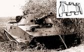 Металлические траки для ПТ-76, БТР-50, АСУ-85 (собранные в ленту)