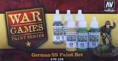 Набор красок German SS War Games, 6 шт