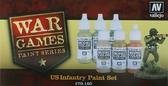 Набор красок Американская пехота War Games, 6 шт