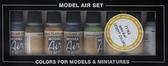 Набор красок Model Air пустыня второй мировой войны , 8 шт