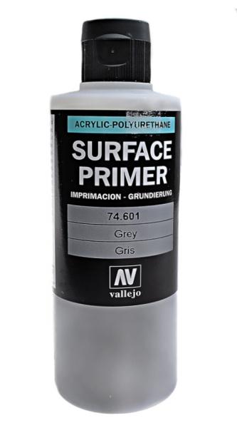 Акрил-полиуретановая грунтовка: Grey Primer 200 мл Vallejo 74601