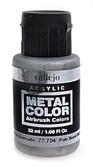 Краска акриловая Metal Color бледно-жженый металл, 32 мл