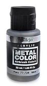 Краска акриловая Metal Color серебро, 32 мл