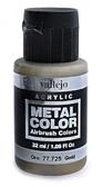 Краска акриловая Metal Color золото, 32 мл