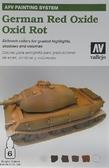 Набор красок  AFV German red oxide, 6 шт