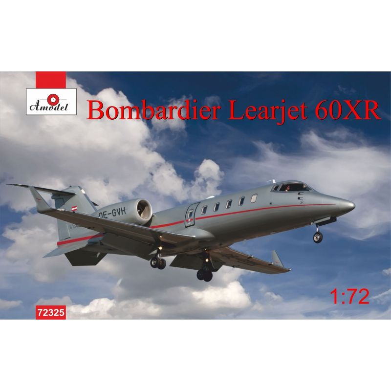 Самолет Bombardier Learjet 60XR Amodel 72325