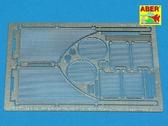 Решетки для танка Королевский тигр Sd.Kfz.182 (Porshe Turret)