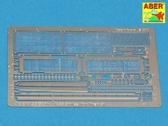 Фототравление: Решетки МТО для Т-55, Тиран 5 (Tamiya)