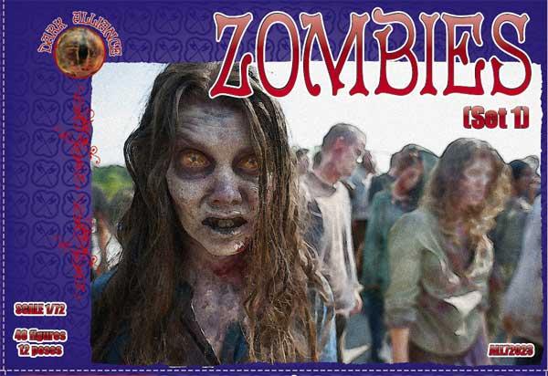 Зомби, набор 1 Alliance 72023