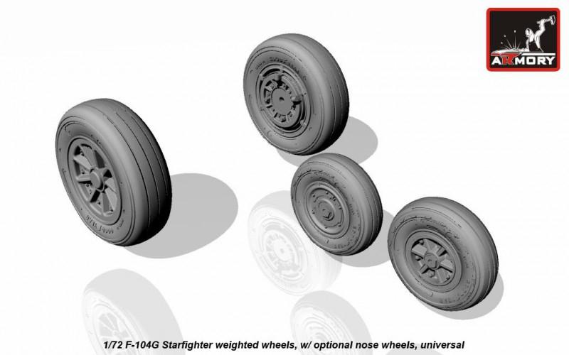 Колеса с дисками для F-104G