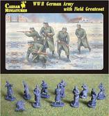 Немецкая пехота в шинелях