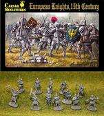European knights, 15th century
