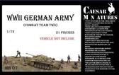 Подразделение немецкой пехоты, набор 2