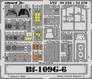 Фототравление 1/72 Bf-109G-6 (цветная, рекомендовано для Hasegawa) Eduard 210 основная фотография
