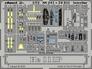 Фототравление 1/72 He-111P интерьер (цветная, рекомендовано для Hasegawa) Eduard 241 основная фотография