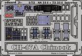 Фототравление 1/72 CH-47 Чинук (цветная, рекомендовано для Trumpeter)