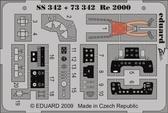 Фототравление 1/72 Re-2000 (цветная, рекомендовано для Italeri)