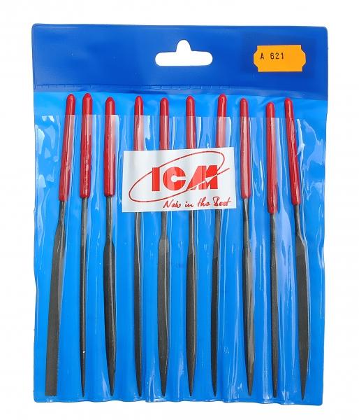 Набор надфилей с ручками (10 шт.) ICM 621