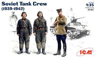 Советский танковый экипаж (1939-1942) ICM 35181