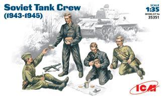 Советский танковый экипаж (1943-1945) ICM 35351