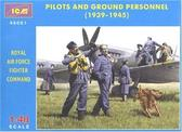 Пилоты и техники ВВС Великобритании (1939 -1945)