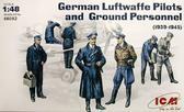 Немецкие летчики люфтваффе и наземный персонал