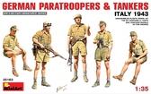 Немецкие десантники и танкисты  (Италия 1943г.)