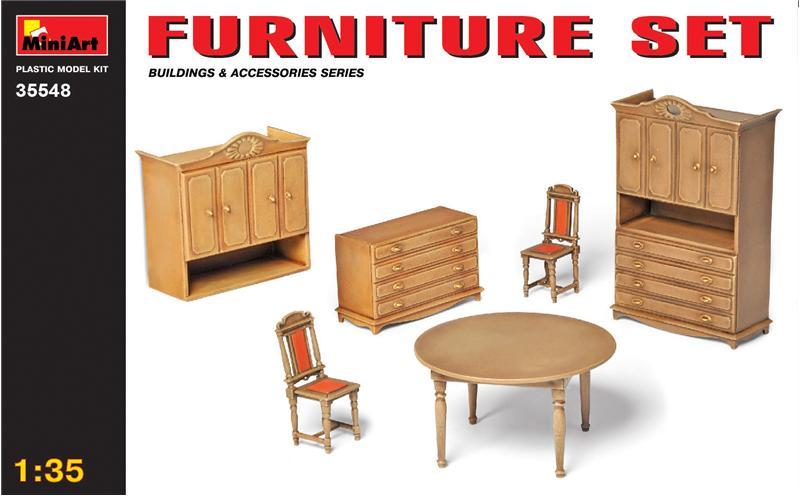 Набор мебели MiniArt 35548