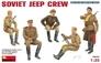 Советский экипаж джипа MiniArt 35049 основная фотография