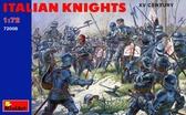 Итальянские рыцари XV век
