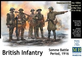 Британская пехота, битва на Сомме, 1916