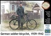 Немецкий солдат-велосипедист, 1939-1942