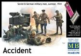 Советские и немецкие военные Авария, лето 1941