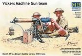 Vickers Machine Gun team, North Africa Desert Battle Series, WW II era