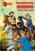 Шведские кавалерийские драгуны, 30 лет войны