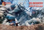 Пехота США с 37-мм оружием