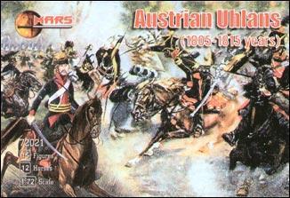Австрийские уланы, 1805-1815 Mars Figures 72021
