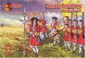 Саксонская пехота, Северная война