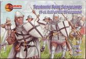 Тевтонские пешие сержанты, 1-ая половина XV столетия