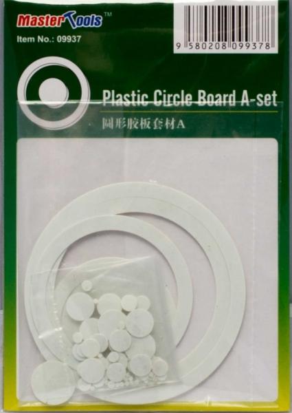 Набор пластиковых кружков и колец (72 шт) Master Tools 09937