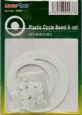 Набор пластиковых кружков и колец (72 шт)