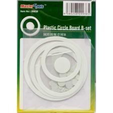 Набор пластиковых кружков и колец (63 шт) Master Tools 09938