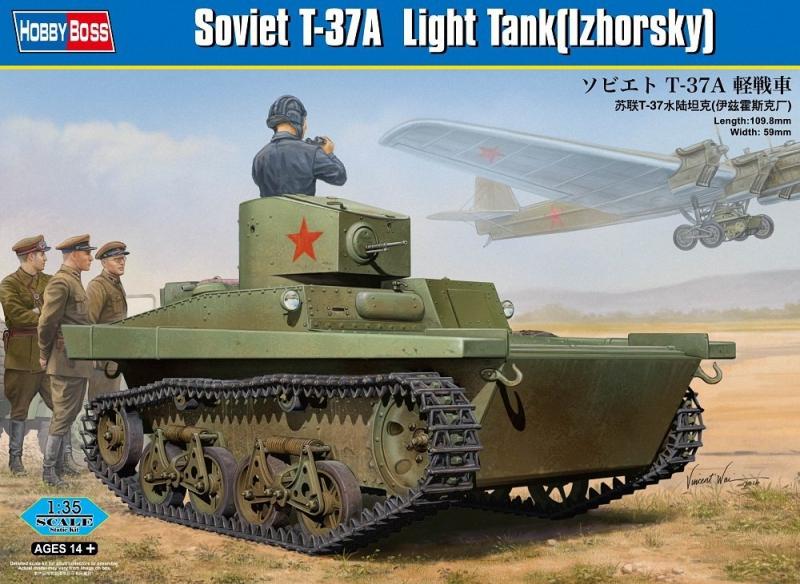 Советский танк T-37A (Izhorsky) Hobby Boss 83821