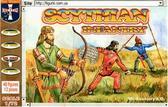 Скифская пехота, VII-II век н.э.