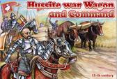 Густиская военная телега и фигурки командования