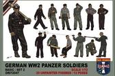 Немецкий танковый экипаж, набор 2