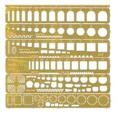 Набор шаблонов для нанесения расшивки (любой масштаб)