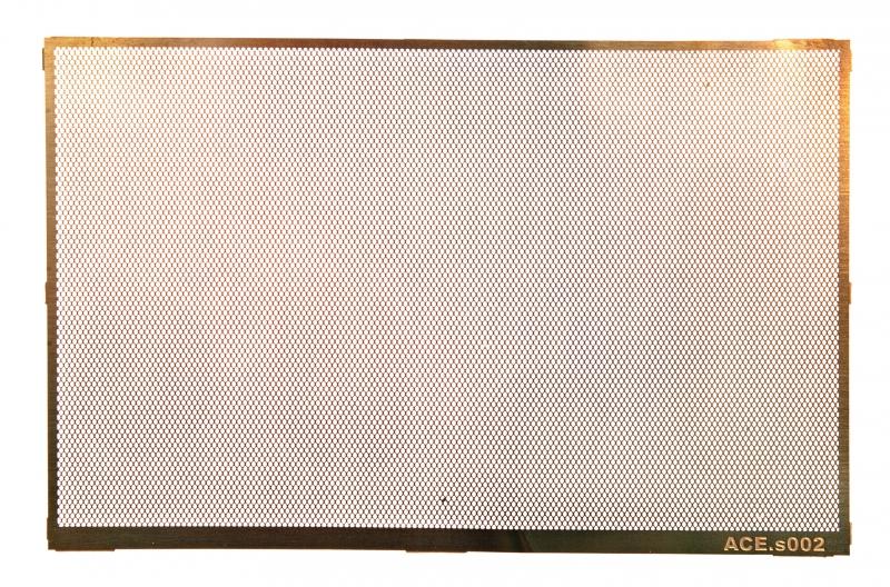 Фототравление: Косая сеть, размер ячейки - 0,8х0,5 мм Ace 002
