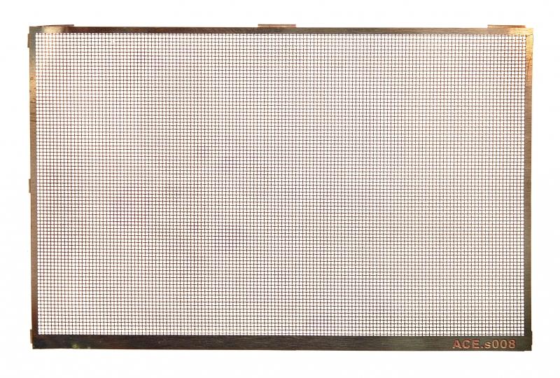 Фототравление: Плетеная сетка, размер ячейки - 0,5х0,5 мм Ace 008