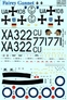 Декаль для самолета Fairey Gannet Print Scale 48069 основная фотография